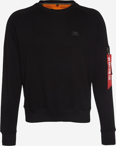 ALPHA INDUSTRIES Sweatshirt in black, Item view
