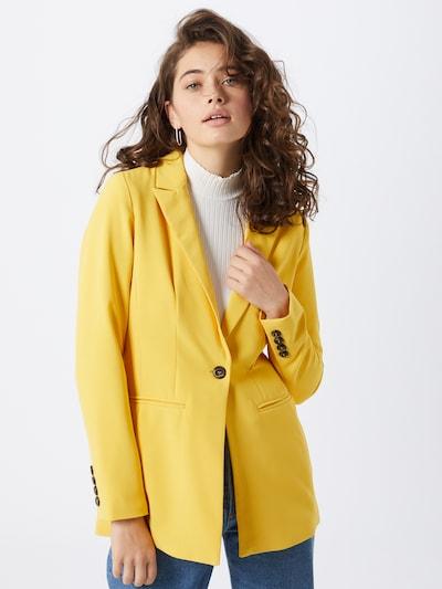 ONLY Blazers 'ONLMINNA BLAZER' in de kleur Geel, Modelweergave
