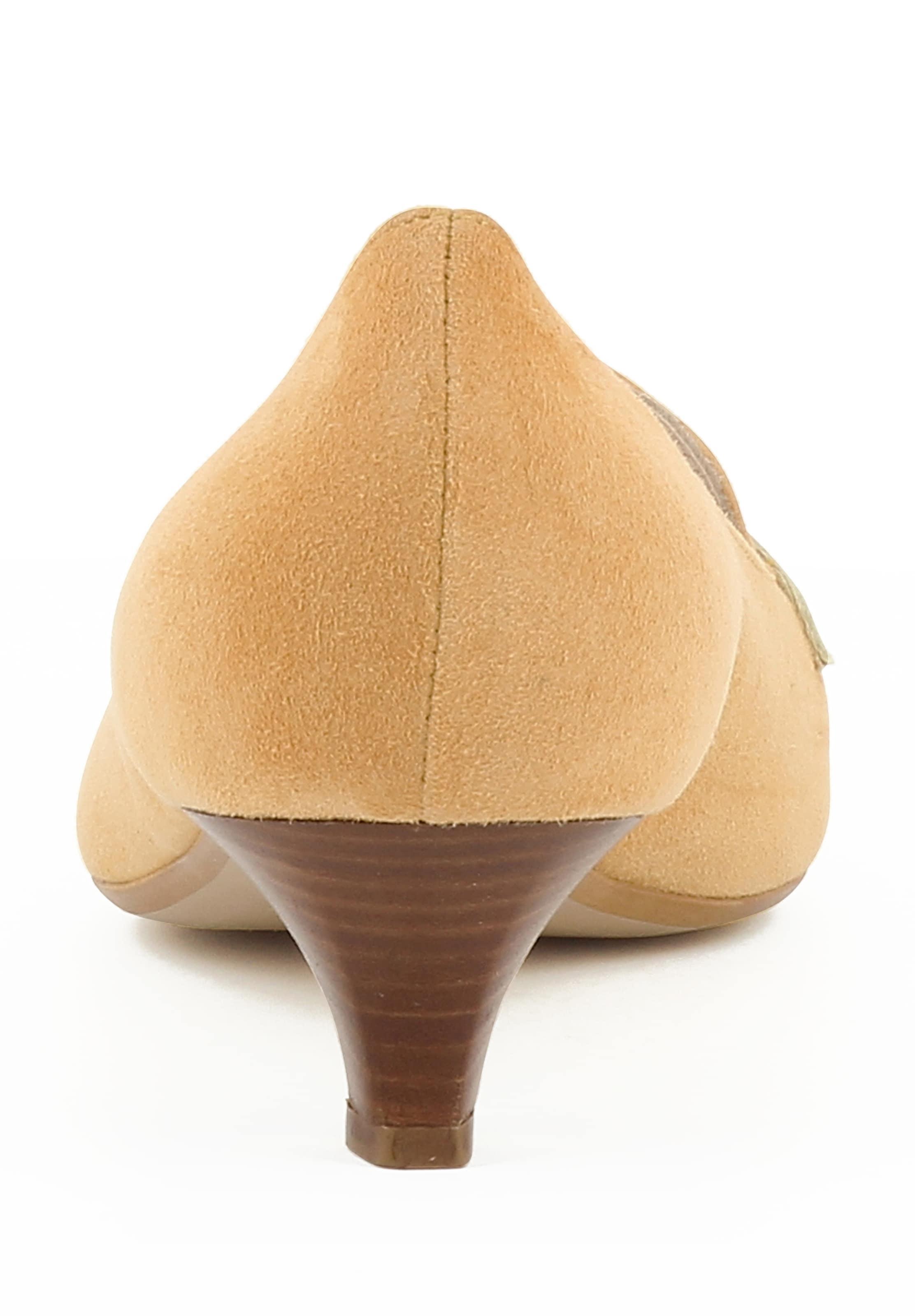 Escarpins Abricot 'lia' Evita 'lia' Escarpins En Abricot Evita En sthrQdCxB