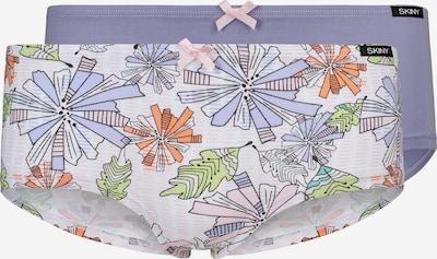 Skiny Panty 2er Pack Tropical Garden mit floralem Muster in lila / mischfarben, Produktansicht
