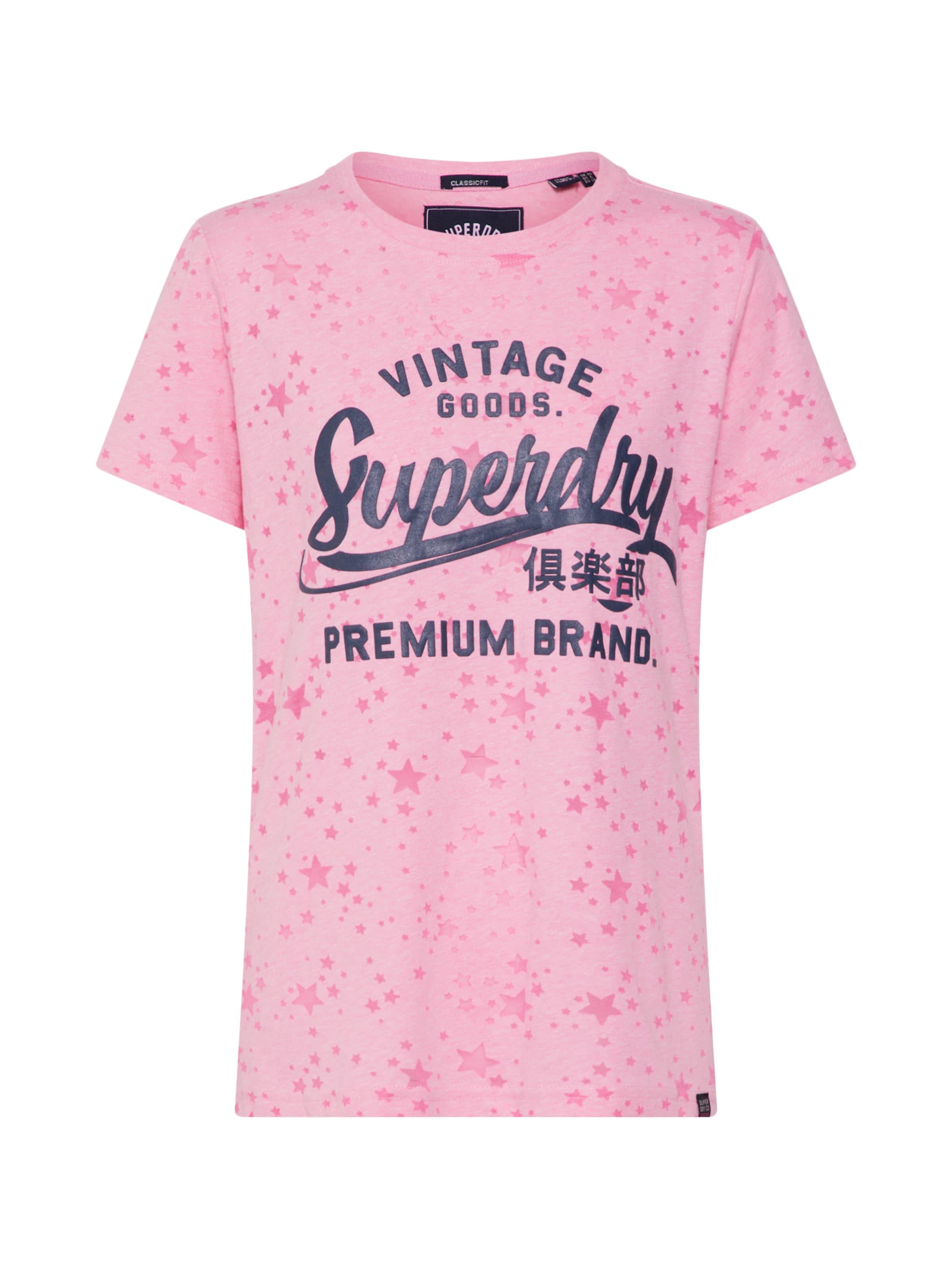 T En Superdry Bleu MarineRose shirt PiTukXwOZ