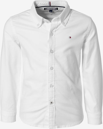 TOMMY HILFIGER Button Up Shirt in White