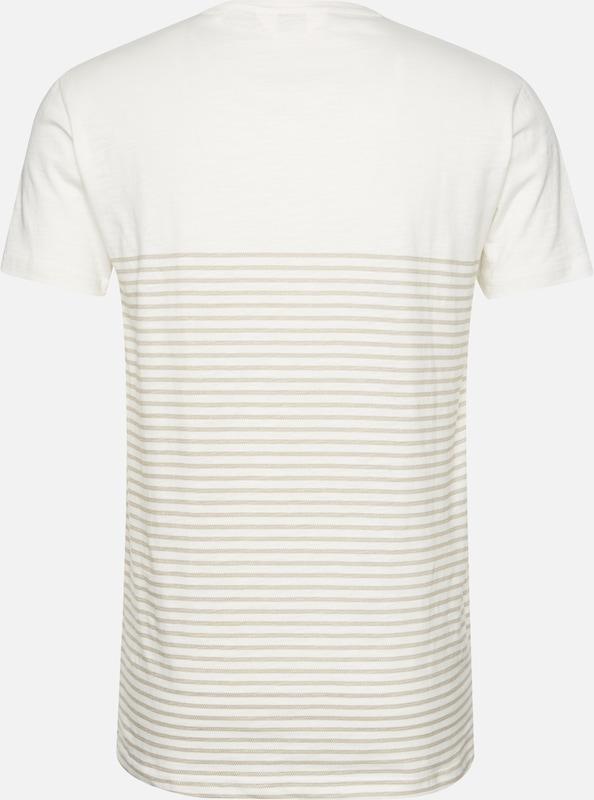 solid En 'halle' shirt T CrèmeMarron NO80nwPkX