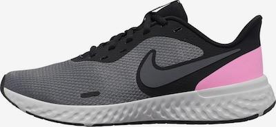 Sneaker de alergat 'Revolution 5' NIKE pe gri metalic / gri amestecat / roz, Vizualizare produs
