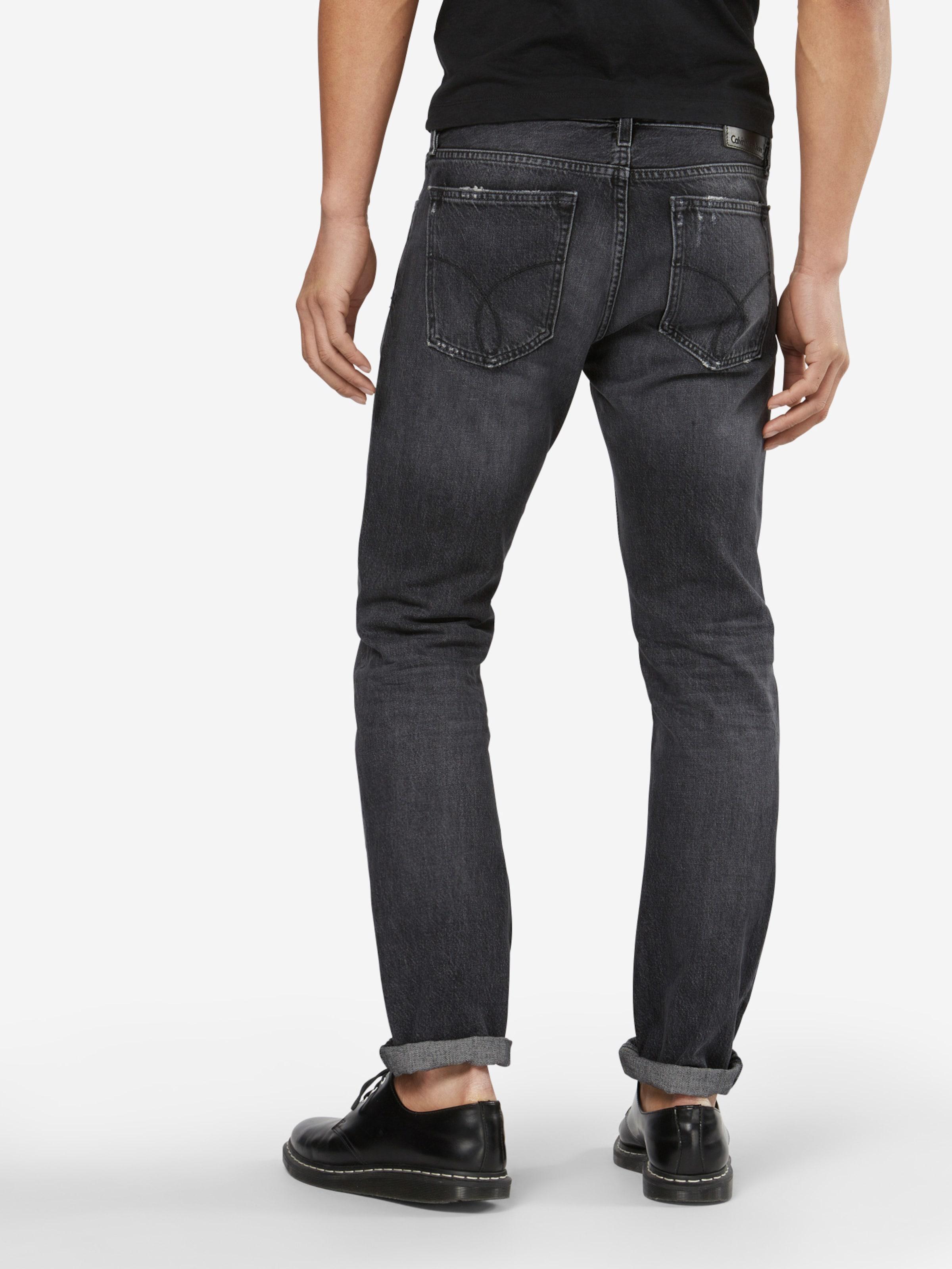 Calvin Klein Jeans Jeans 'SLIM STRAIGHT - HOLLIS BLACK' Rabatt 100% Authentische TG8hOt5oN