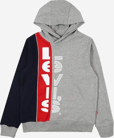 Felpa 'HOOKUP' LEVI'S di colore navy / grigio / rosso, Visualizzazione prodotti