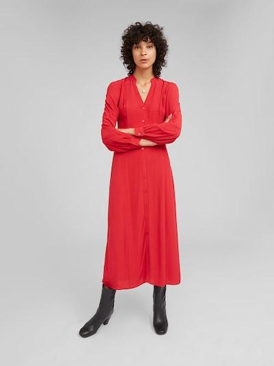 Palaidinės tipo suknelė 'Leonetta' iš EDITED , spalva - raudona: Vaizdas iš priekio