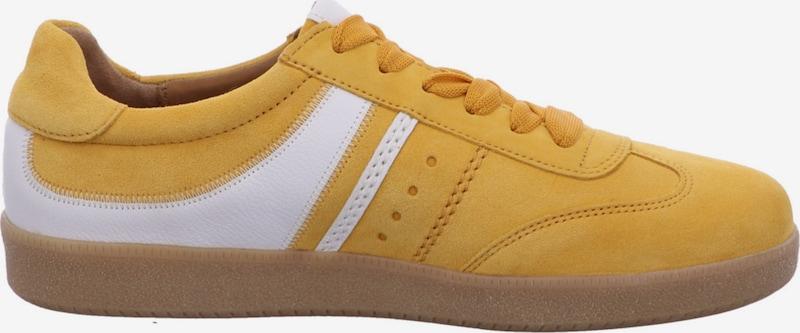 GABOR Sneakers laag in Geel / Wit 8WsX69Ad