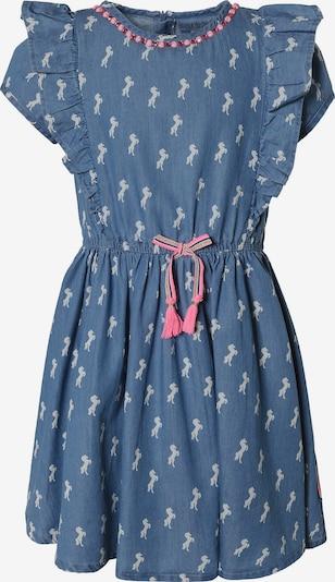JETTE BY STACCATO Kleid in himmelblau / pink / silber, Produktansicht