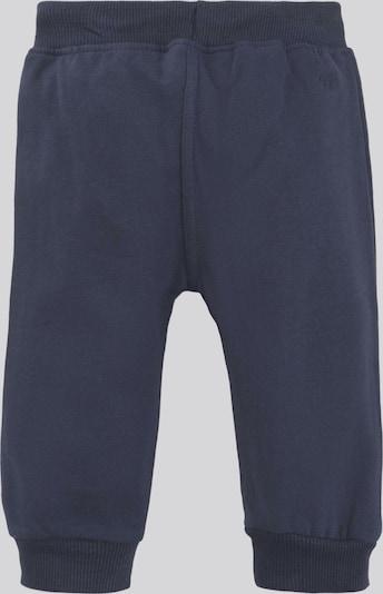 TOM TAILOR Hosen & Chino Gestreifte Jogginghose mit Print in blau, Produktansicht