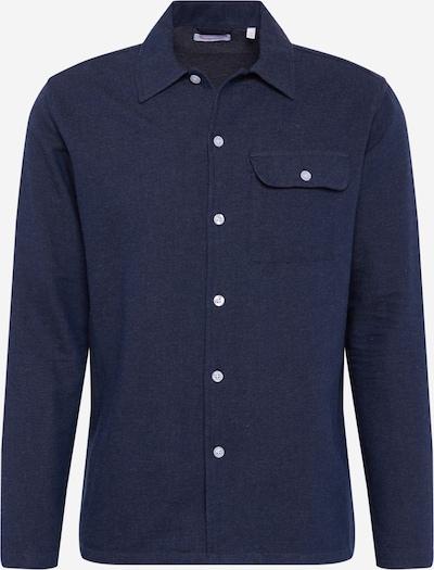 Dalykiniai marškiniai iš KnowledgeCotton Apparel , spalva - tamsiai mėlyna, Prekių apžvalga