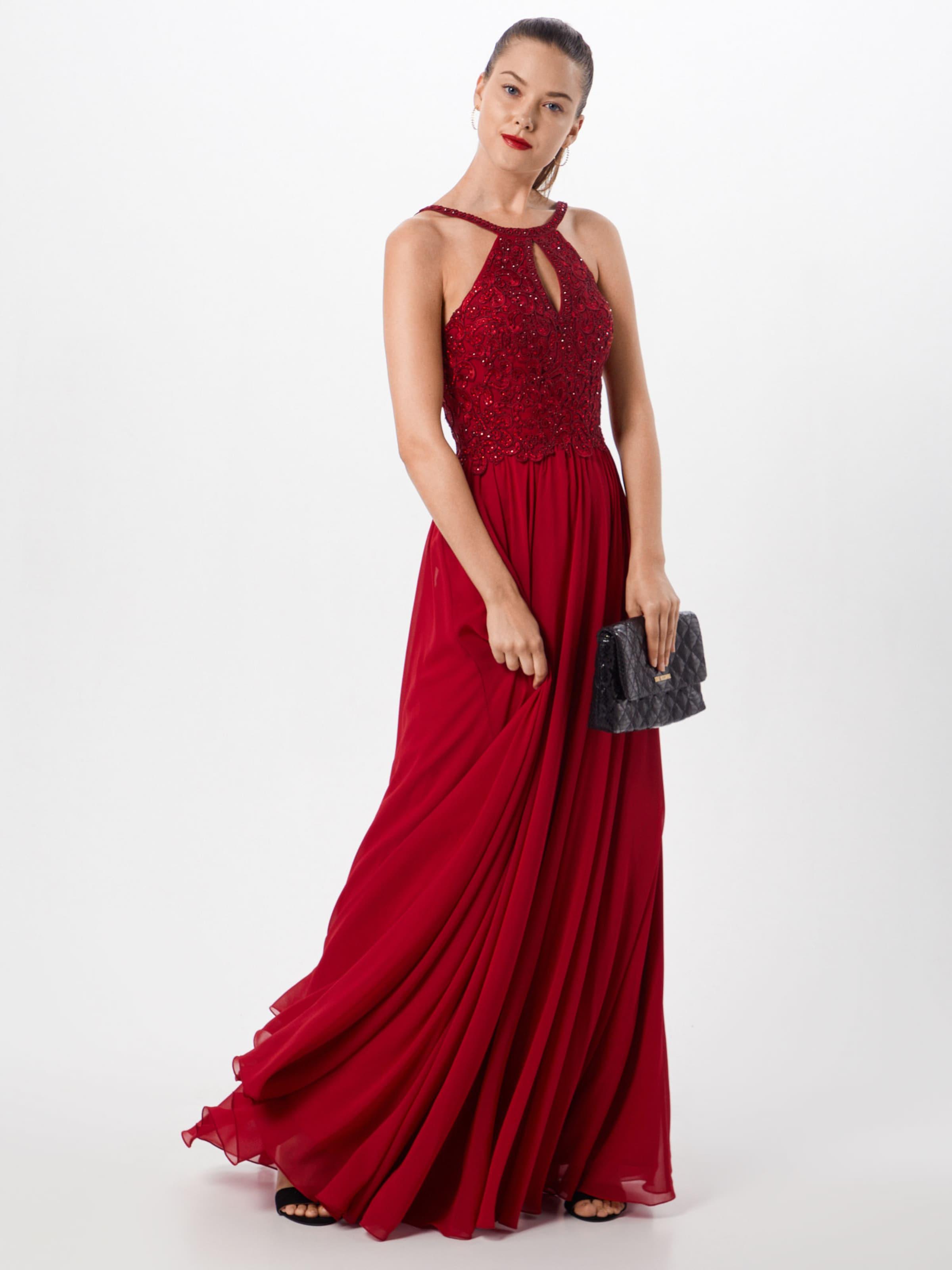 Luxuar In Abendkleid Kirschrot Abendkleid Luxuar Abendkleid In Kirschrot In Luxuar fgYb6Iyv7