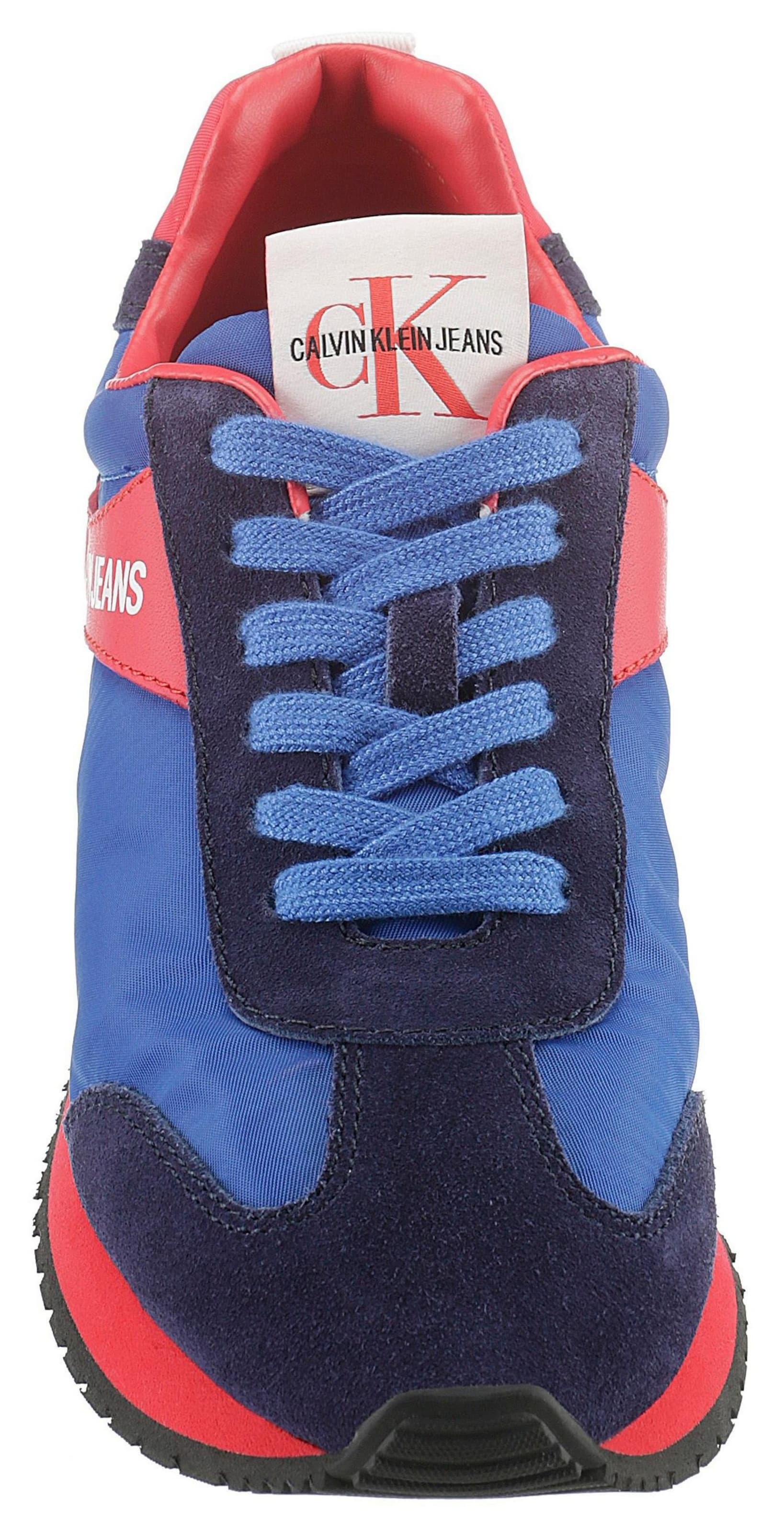 Calvin In Sneaker Klein BlauRot 'jill' QCxrtosdhB