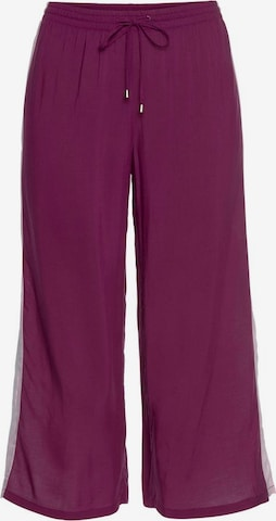 Pantaloni de pijama de la s.Oliver pe mov