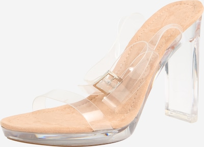 Public Desire Pumps 'Steal' in nude / transparent, Produktansicht