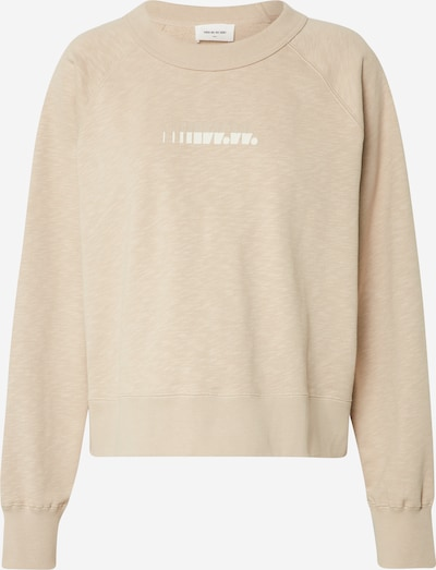 WOOD WOOD Sweatshirt 'Hope' in beige, Produktansicht