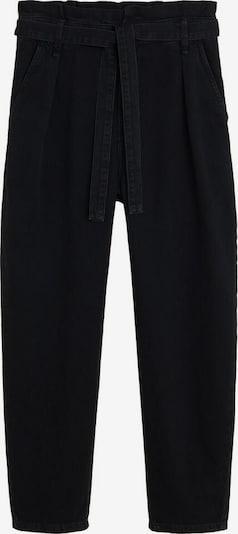 MANGO Jeans 'Carrot' in black denim, Produktansicht