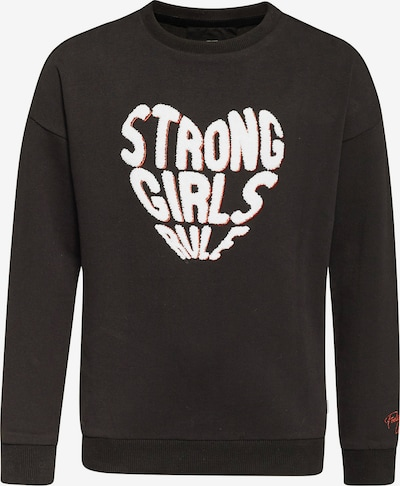 WE Fashion Sweatshirt in schwarz / weiß, Produktansicht