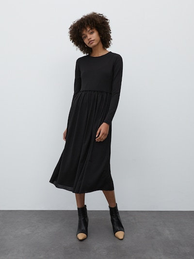 EDITED Kleid 'Carmina' in schwarz, Modelansicht