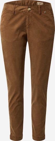 Herrlicher Pantalon chino 'Lovely' en marron, Vue avec produit
