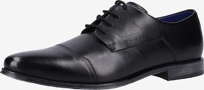 bugatti Chaussure à lacets en noir: Vue de face