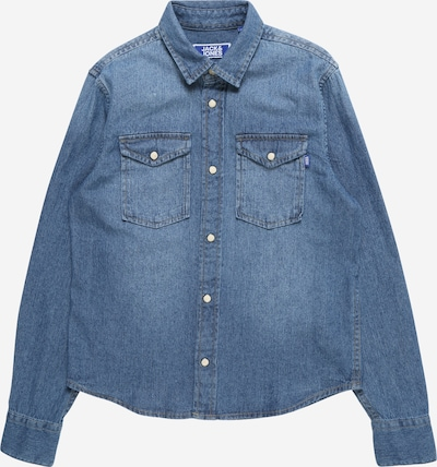 Jack & Jones Junior Hemd 'JJESHERIDAN' in blue denim, Produktansicht