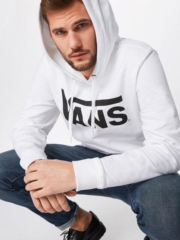 VANS Hoodie 'CLASSIC' in schwarz weiß   ABOUT YOU