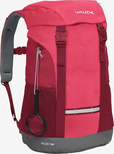 VAUDE Sportrugzak 'Pecki 14' in de kleur Rood / Cranberry, Productweergave
