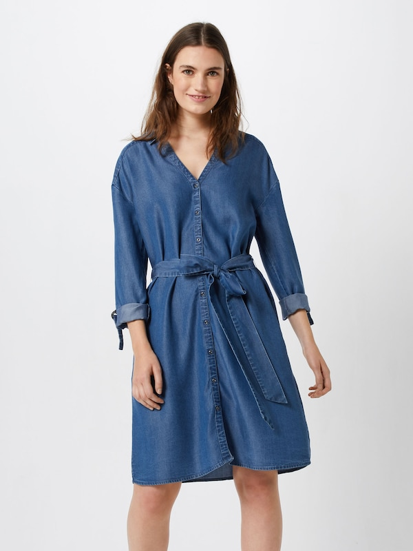 EDC BY ESPRIT Kleid 'ECOM' in in in blau  Neue Kleidung in dieser Saison d1e8e9