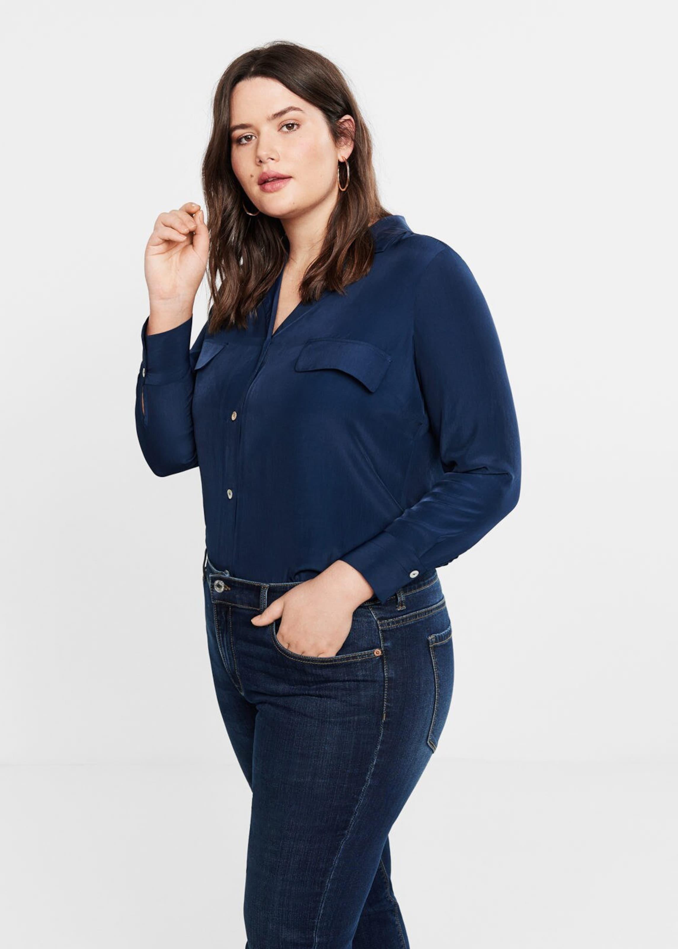 In Jeans By Dunkelblau 'susan' Violeta Mango 153lKJcuTF