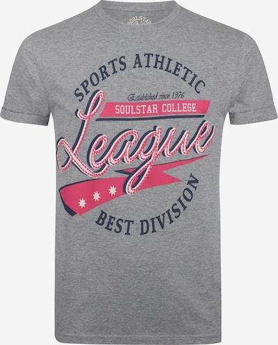 SOULSTAR Shirt in de kleur Grijs, Productweergave