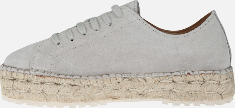 SHABBIES AMSTERDAM Espadrille-Sneaker LACE-UP SUEDE