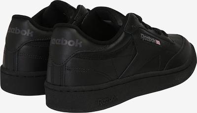 Reebok Classic Sneaker 'CLUB C 85' in schwarz: Rückansicht