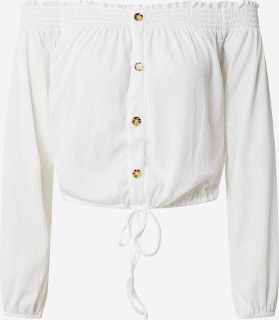 PIECES Bluse 'PCANNIE' in weiß, Produktansicht