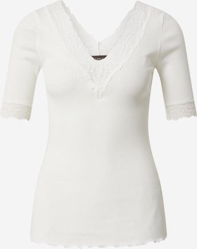 krém rosemunde Póló 'Organic t-shirt v-neck regular 3/4s w/lace', Termék nézet