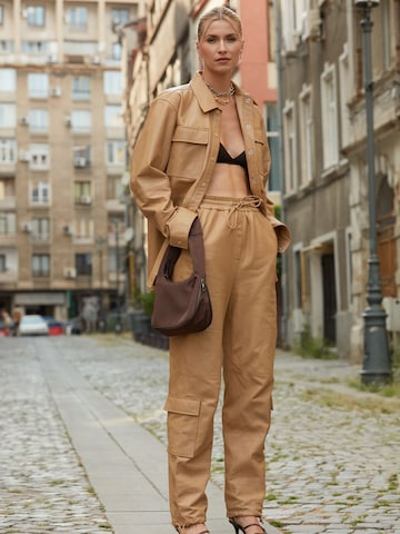 Leather Set Look by LeGer by Lena Gercke