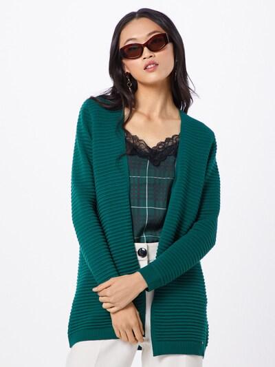 MORE & MORE Strickjacke in smaragd, Modelansicht