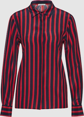 Iheart Blouse 'Gina' in Navy / Rood