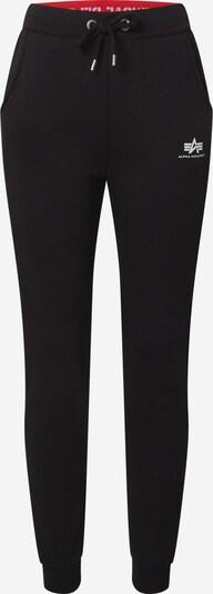 ALPHA INDUSTRIES Pantalon en noir, Vue avec produit