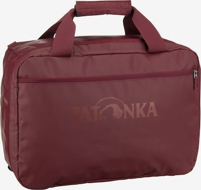 TATONKA Reisetasche ' Flight Barrel FS ' in bordeaux, Produktansicht