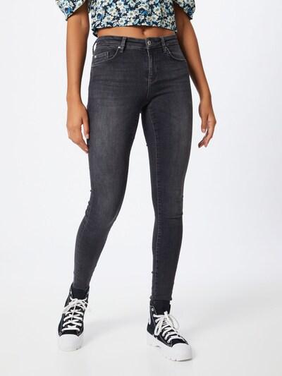 ONLY Jeans 'CARMEN' in black denim: Frontalansicht