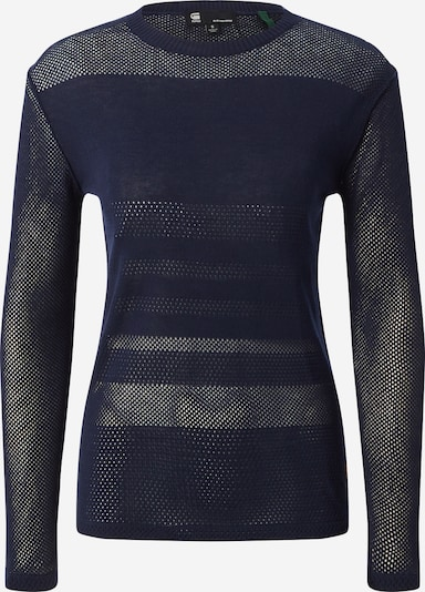 G-Star RAW Pullover 'Inqar R' in nachtblau, Produktansicht