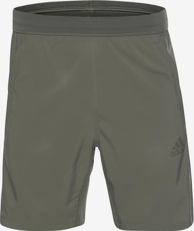ADIDAS PERFORMANCE Funktionsshorts in khaki: Frontalansicht