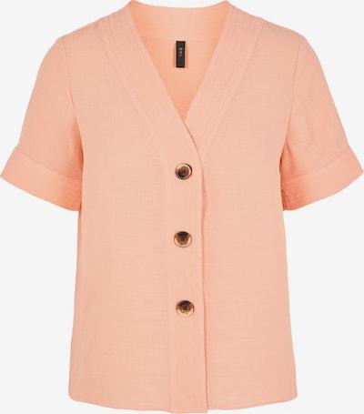 Y.A.S V-Ausschnitt Kurzarmhemd in lachs, Produktansicht