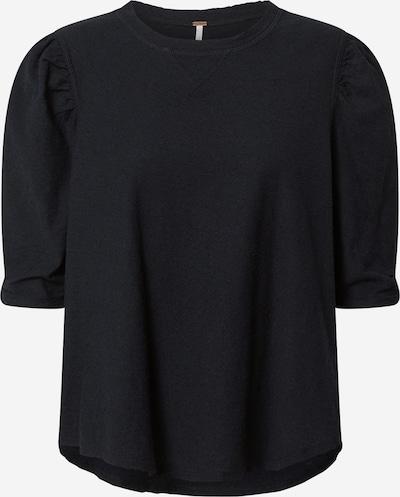 Free People Shirt 'JUST A PUFF' in schwarz: Frontalansicht