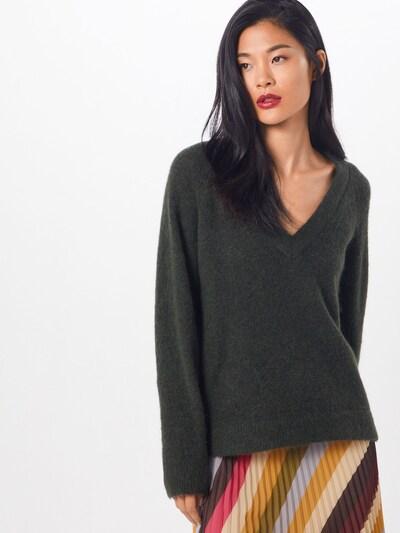 SELECTED FEMME Pullover 'LANNA' in dunkelgrün, Modelansicht