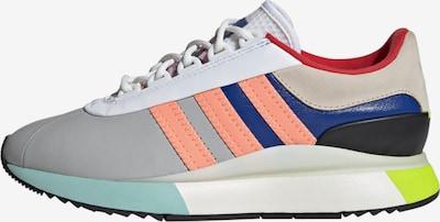 ADIDAS ORIGINALS Sneaker in türkis / dunkelblau / grau / apfel / lachs, Produktansicht