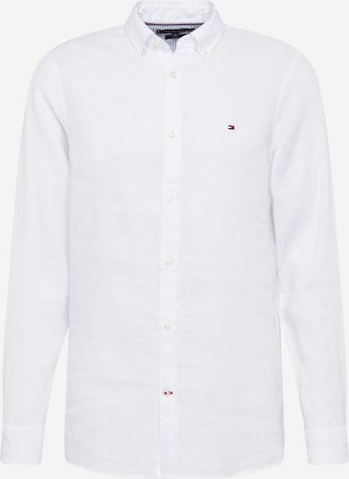 TOMMY HILFIGER Hemd in dunkelblau / rot / offwhite, Produktansicht
