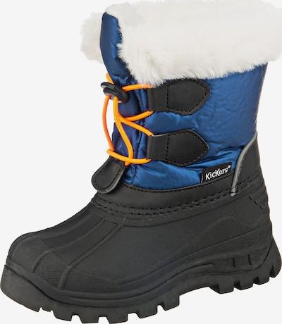 KICKERS Winterstiefel 'Sealsnow' in blau / schwarz / weiß, Produktansicht