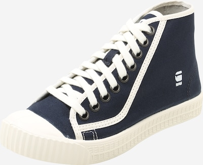 G-Star RAW Sneaker High 'ROVULC' in navy / weiß, Produktansicht